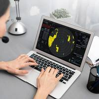 Kongsberg Digital's new radar application will enable instructors to facilitate online radar training for students, who can practice anywhere and anytime using their own laptop and an internet connection. Photo: Kongsberg Digital