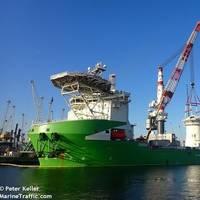 Orion in Rostock - Image by Peter Keller/MarineTraffic