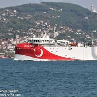 Oruc Reis - Image by Cengiz Tokgoz/MarineTraffic
