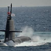 Soryu-class submarine. Photo: Japan Maritime Self-Defense Force