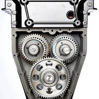 OXE's gear box eliminates beveled gears and transfer shafts, the weakness found in other outboards and inboards. The commonly used dog clutch system used mainly on outboard systems has been substituted with more sophisticated electro hydraulically operated solution.