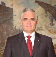 Panama Canal Administrator Jorge Luis Quijano.