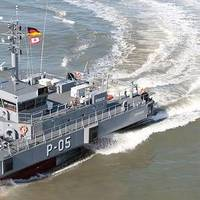Patrol Boat 'Skrunda': Photo credit Abeking & Rasmussen
