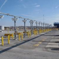 Peel Ports have awarded a £5.5 million contract to Kalmar Global and APS Technology to install smart AutoGates technology at its £300m deep-water expansion project at the Port of Liverpool (example Baltimore)
