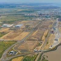 Pentalver's new site located next to London Gateway's port gates (Photo: London Port Authority)