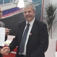 Philippe Berterottie`re, Chairman and CEO, GTT and Philippe Cambos, Director and Senior Technical Advisor, Bureau Veritas Marine & Offshore (Photo: Bureau Veritas)