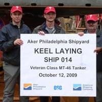 Photo courtesy Aker Philadelphia Shipyard