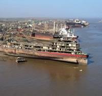 Photo credit Alang Ship Recycling Yard