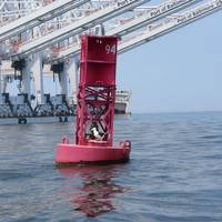 Photo credit: Darren Wright (buoy in port of Baltimore.)
