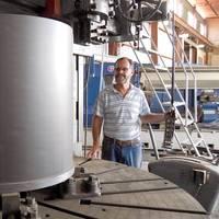 Photo: Vesconite: Fast Turnaround on Rudder Bearings
