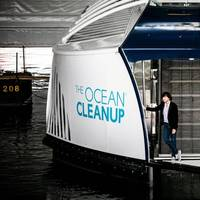 Pic: The Ocean Cleanup