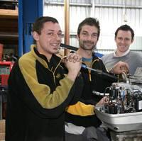 Pictured: Dean Smith, Steve Kartsaklis and Mark Isaacs at MEGT Australian Apprenticeships Center