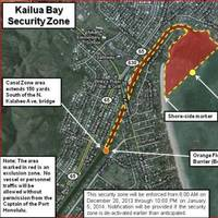 Pictured is the Kailua Security Zone OUTREACH Illustration.