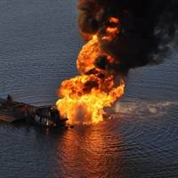 Pipeline Fire 15, March 2013: Photo credit USCG