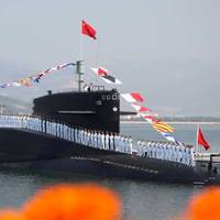 PLA Navy submariners: Photo credit PLAN
