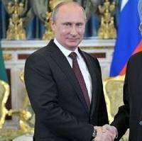 PM's Putin & Singh: Russia Govt. photo