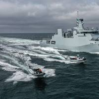 PNS Tabuk during sea trials (Photo: Damen)