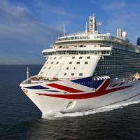 P&O Cruises Britannia features a water-lubricated COMPAC propeller shaft system (Photo: Thordon Bearings)