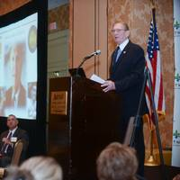 Port President and CEO Gary LaGrange delivers the annual State of the Port Address hosted by the International Freight Forwarders Customs Brokers Association of New Orleans Nov. 5 at the New Orleans Downtown Marriott at the Convention Center.