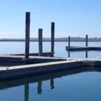Precast Marina Dock: Photo courtesy of Shea Concrete
