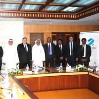 Principals at signing ceremony: Image UASC