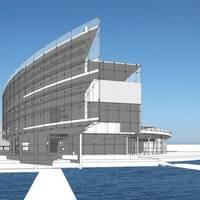 Proposed National Coast Guard Museum: Image credit USCG