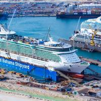 RCCL Liberty of the Seas (Photo: Grand Bahama Shipyard)