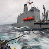 Refuelling at Sea: Photo courtesy of NRL