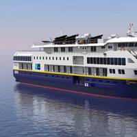 Rendering of 236' Lindblad Expeditions Vessel