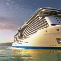 Rendering of Princess Cruises' new China-based cruise ship, Majestic Princess. (Image: Princess Cruises)