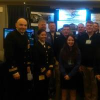 Representatives from the Center for Surface Combat Systems (CSCS) educated the surface warfare community on who they train and how they support the Fleet at the Surface Navy Association (SNA) Symposium Jan. 12 - 14 (U.S. Navy photograph, courtesy Center for Surface Combat Systems)