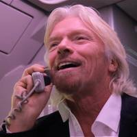 Richard Branson. Photo: Virgin