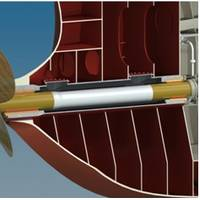 Thordon Bearings' seawater-lubricated propeller shaft bearing system meets classification society rules for extended shaft withdrawal periods (Image: Thordon Bearings)