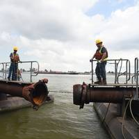 River dredging operations in the State of Louisiana (CREDIT: Port of New Orleans)