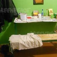 Murmansk Detention Quarters: Photo courtesy of Greenpeace