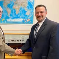 Robert G. (Bob) Wellner and David R. Minetti (CREDIT: Liberty Global Logistics)