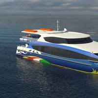 Robust and Efficient Catamaran Ferry for Seychelles Photo Incat Crowther