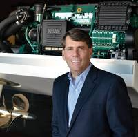 """Ron Huibers, President of Volvo Penta Region America, said """"We have the mandate to grow the business substantially; we want to double the business in the next few years."""""""