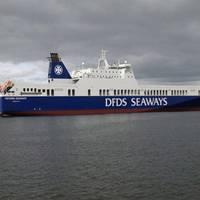 RoRo Petunia Seaways: Photo courtesy of DFDS