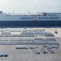 RoRo vessel at Khalifa Port (Photo: Abu Dhabi Ports)