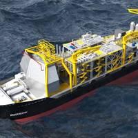 Rosebank FPSO (Image: Chevron)