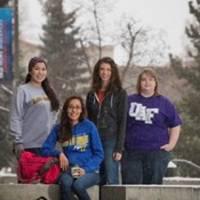 Crowley Alaska scholarship students: Photo credit Crowley
