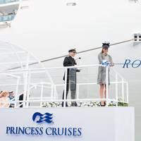 'Royal Princess' Naming: Photo credit Princess Cruises