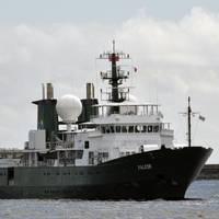 R/V Falkor: Photo credit Schmidt Ocean Institute