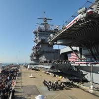 USS Enterprise Inactivation Ceremony: Photo credit USN