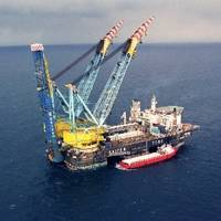 Saipem 7000 pipe-laying vessel: Photo courtesy of Gazprom