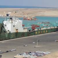 'Saudi Diriyah': Photo courtesy of Saudi Arabia Ports Authority