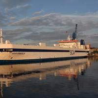 SCA Obbola in Ostuferhafen Photo Port of Kiel