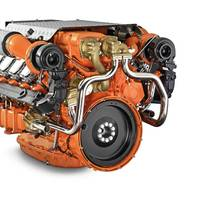 Scania 16-liter V8  EPA Tier 3 Engine