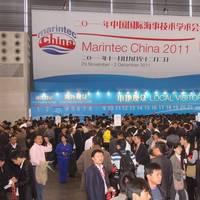 Scene Marintec China 2011: Photo courtesy of the organizers